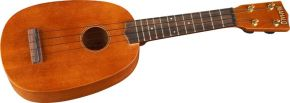 Click to buy Mahalo Ukulele: U-320P Deluxe Pineapple Soprano from Musician's Friends!