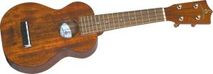Click to buy Silver Creek: All Solid Soprano Ukulele from Musician's Friends!