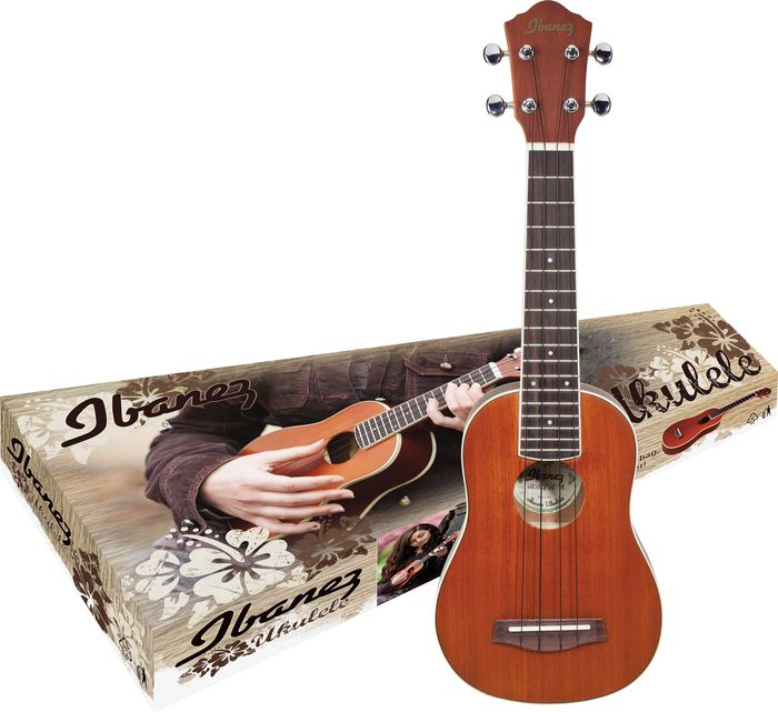 Click to buy Ibanez: IUKS5 Ukulele Pack from Musician's Friends!