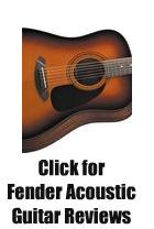 Fender Acoustic Guitar Reviews