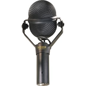 Guitar Microphones: Electro-Voice N/D468 Dynamic Supercardioid