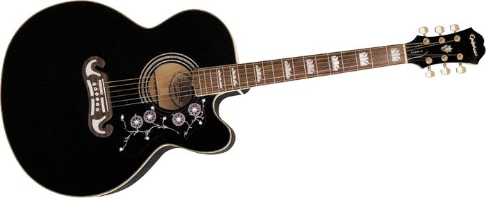 Click to buy Epiphone Acoustic Electric: EJ-200CE from Musician's Friends!