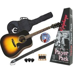 Click to buy Epiphone Acoustic Guitar: PR-150 Value Pack from Musician's Friends!