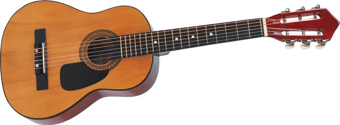 Click to buy Hohner HAG-250P 1/2 Size Parlor from Musician's Friends!