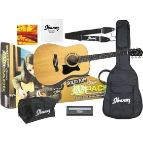 Click to buy Ibanez Acoustic Guitar: JamPack Solid-Top Guitar Pack from Musician's Friends!