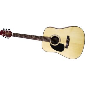 Click to buy Takamine Guitars: Jasmine Dreadnought Lace S33LH Left-Handed from Musician's Friends!