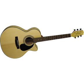 Click to buy Takamine Guitars: Jasmine NEX Cutaway S34CFM from Musician's Friends!
