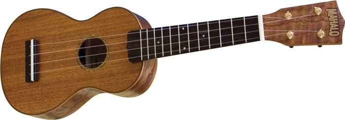Click to buy Mahalo Ukulele: U350 Deluxe Soprano with Case from Musician's Friends!