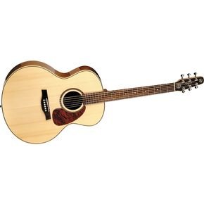 Click to buy Seagull Guitars: Maritime SWS Mini Jumbo High Gloss from Musician's Friends!