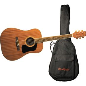 Click to buy Washburn Acoustic Guitars: D100DL Dreadnought from Musician's Friends!