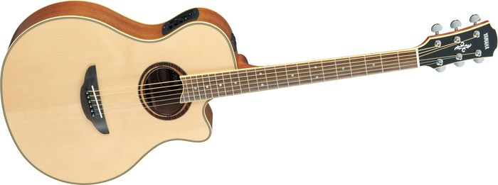 Click to buy Yamaha APX700ii Thinline Cutaway Acoustic-Electric Guitar from Musician's Friends!