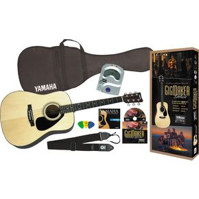Click to buy Yamaha Acoustic Guitars: GigMaker Deluxe Pack from Musician's Friends!