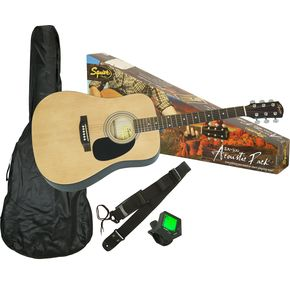 Click to buy Fender Acoustic Guitars: Squire SA-100 Upgrade Pack from Musician's Friends!