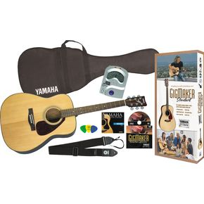 Click to buy Yamaha Acoustic Guitars: GigMaker Pack from Musician's Friends!